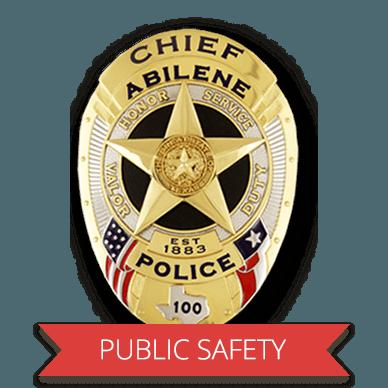 public safety badge