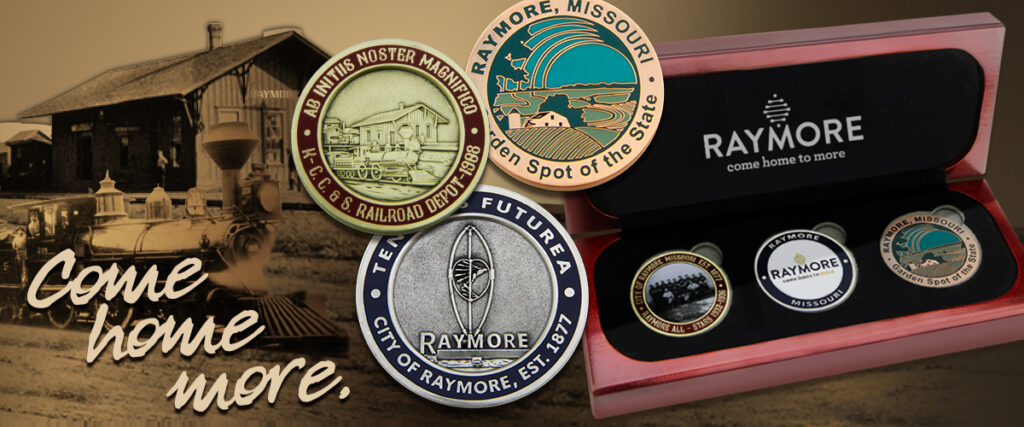 Example of Challenge coin set created for local government.