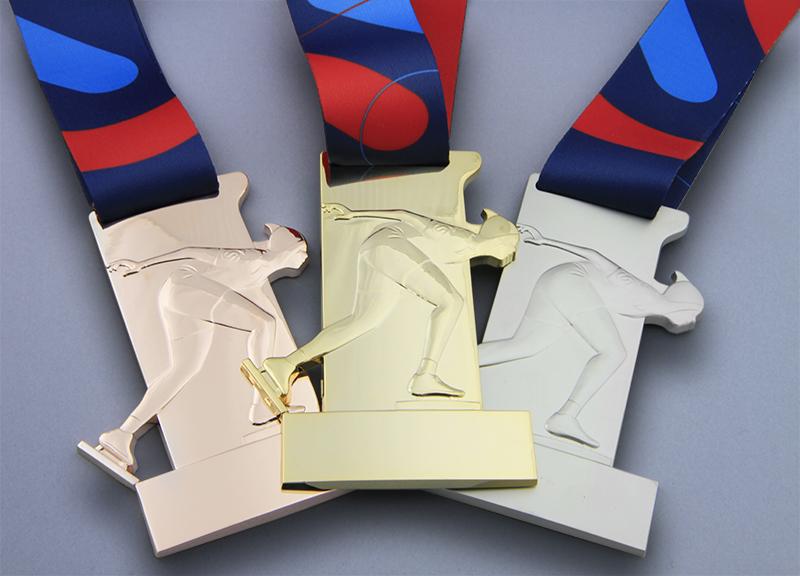 Us Speedskating Race Medals