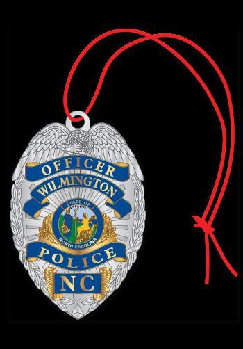 Badge Custom Ornament